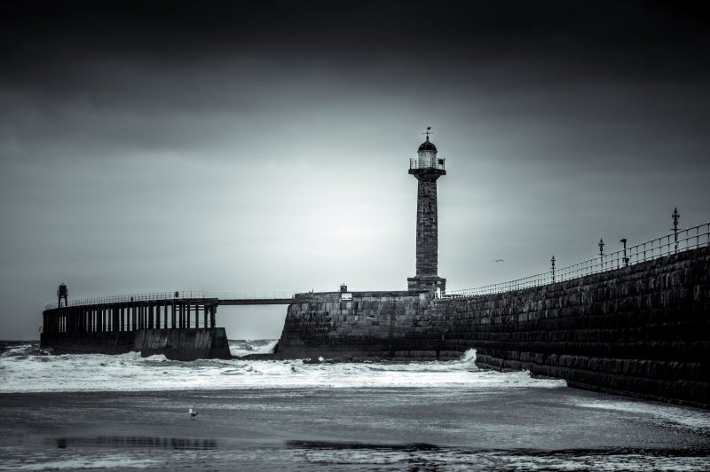 Whitby's West Pier
