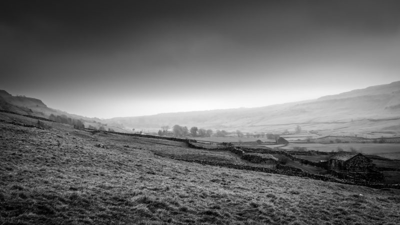 Misty Yorkshire Dales