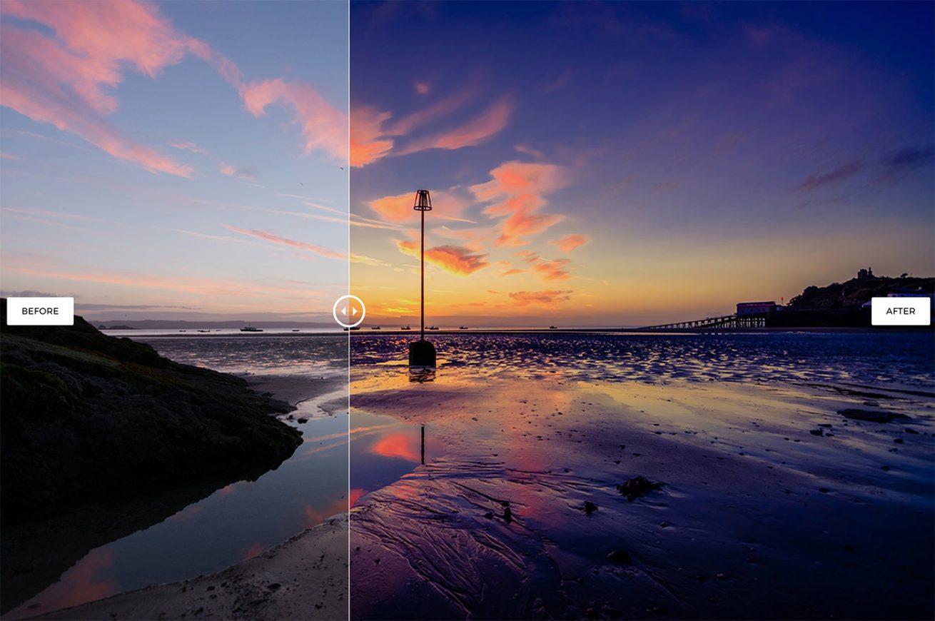 Free Lightroom Seascape Preset by Tim Hill