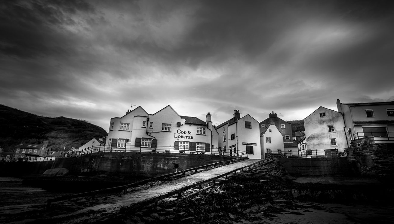 Cod and Lobster pub photography staithes by tim hill
