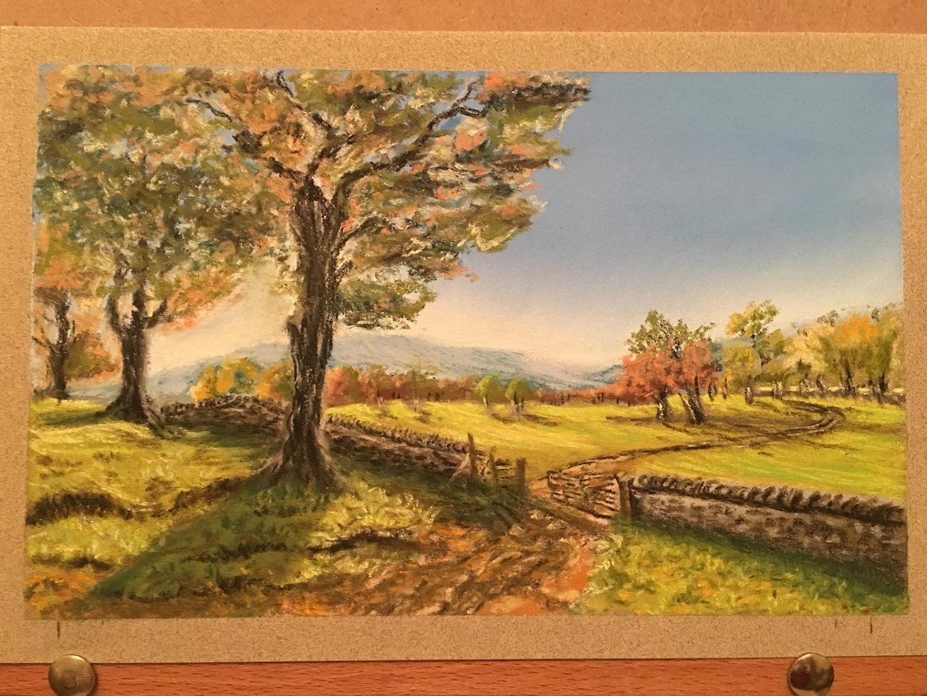 Pastel Painting by Julie Hazlewood