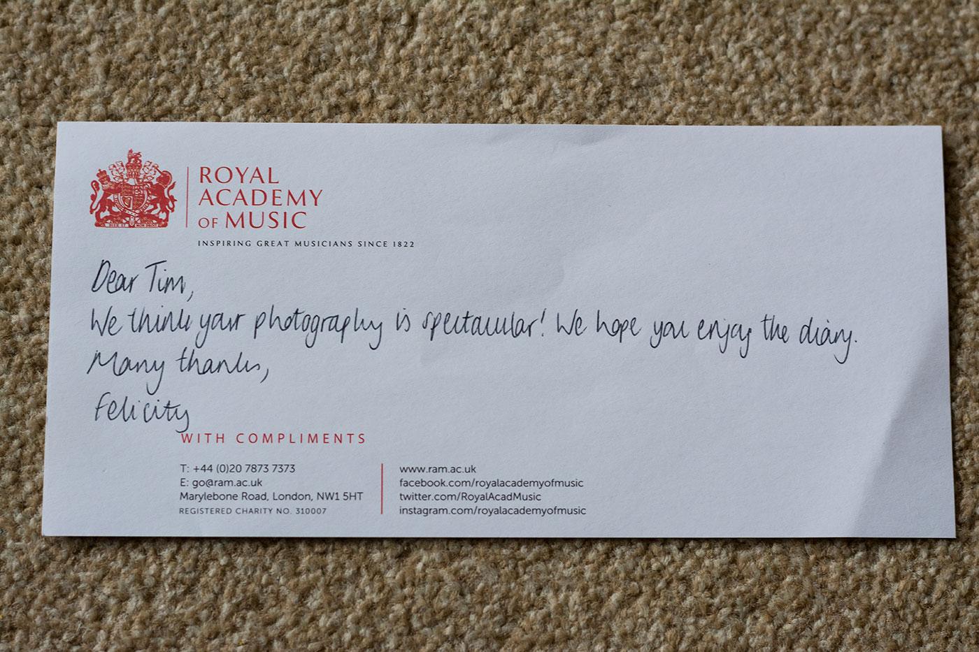 royal academy music
