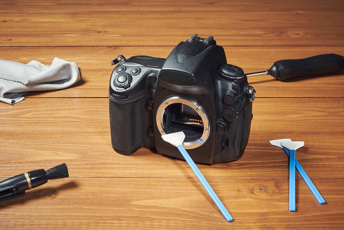 Camera Image Sensor Cleaning Advice