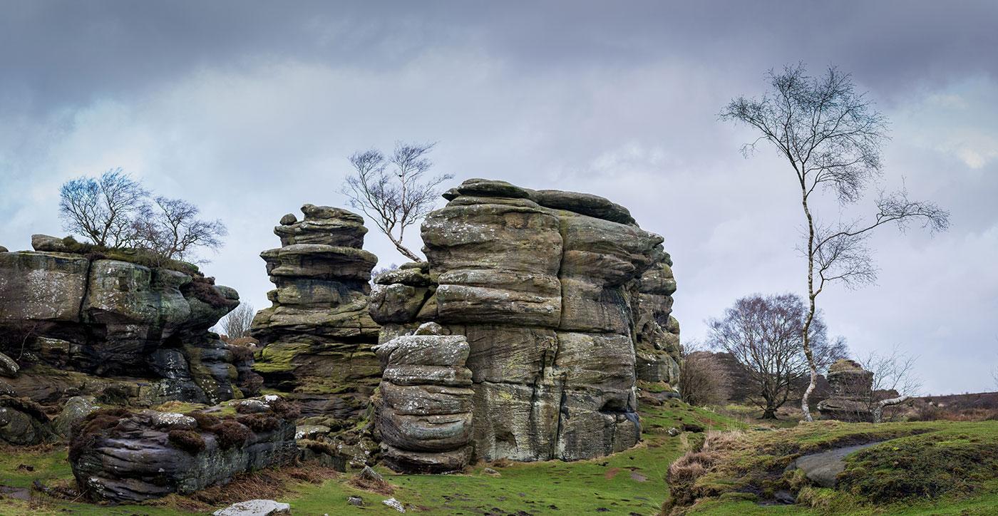 Brimham rocks Pano