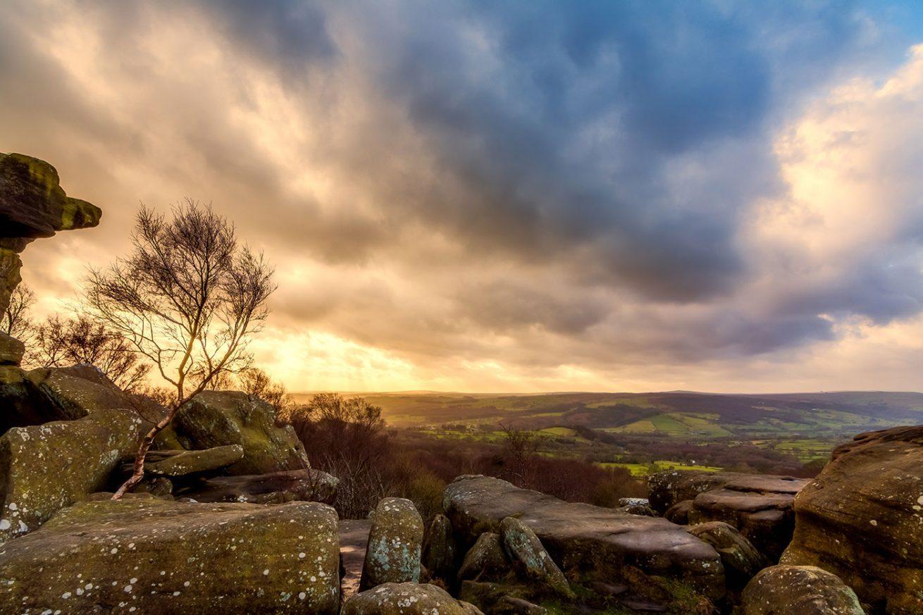 Brimham Rocks Sky