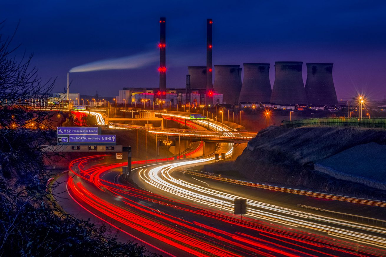Ferrybridge Power Station Tim Hill