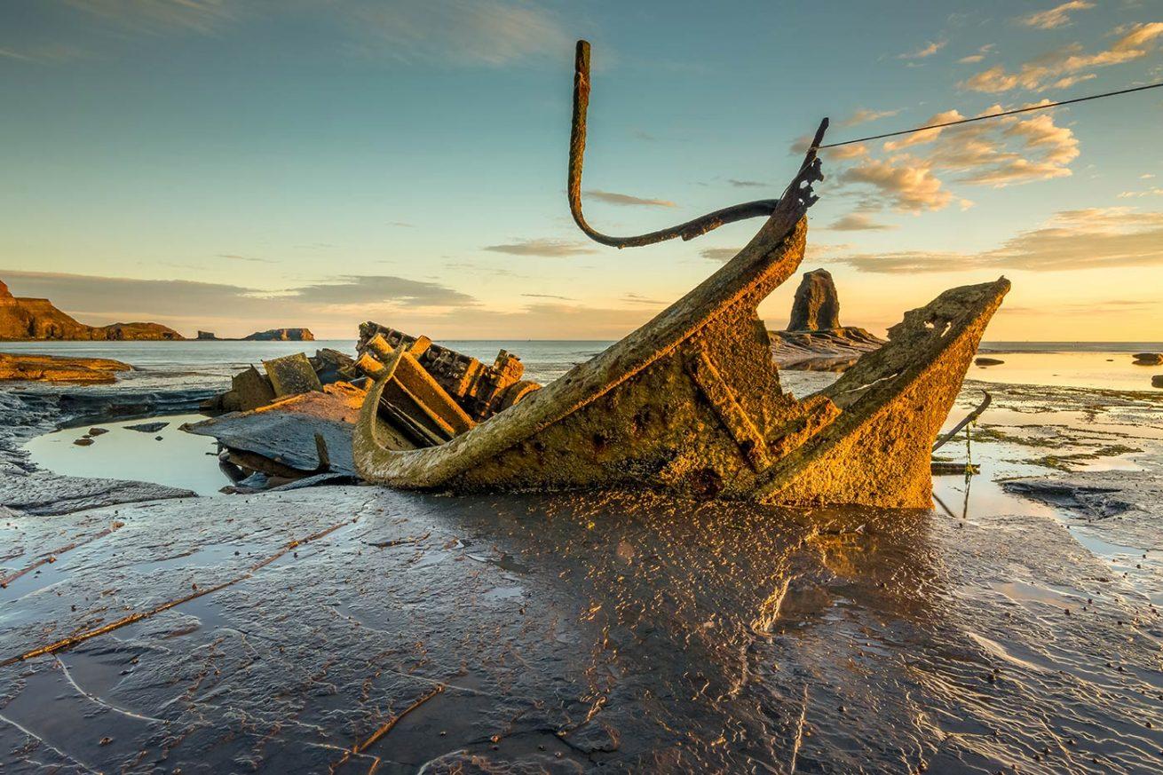 Admiral Von Tromp shipwreck Saltwick Bay