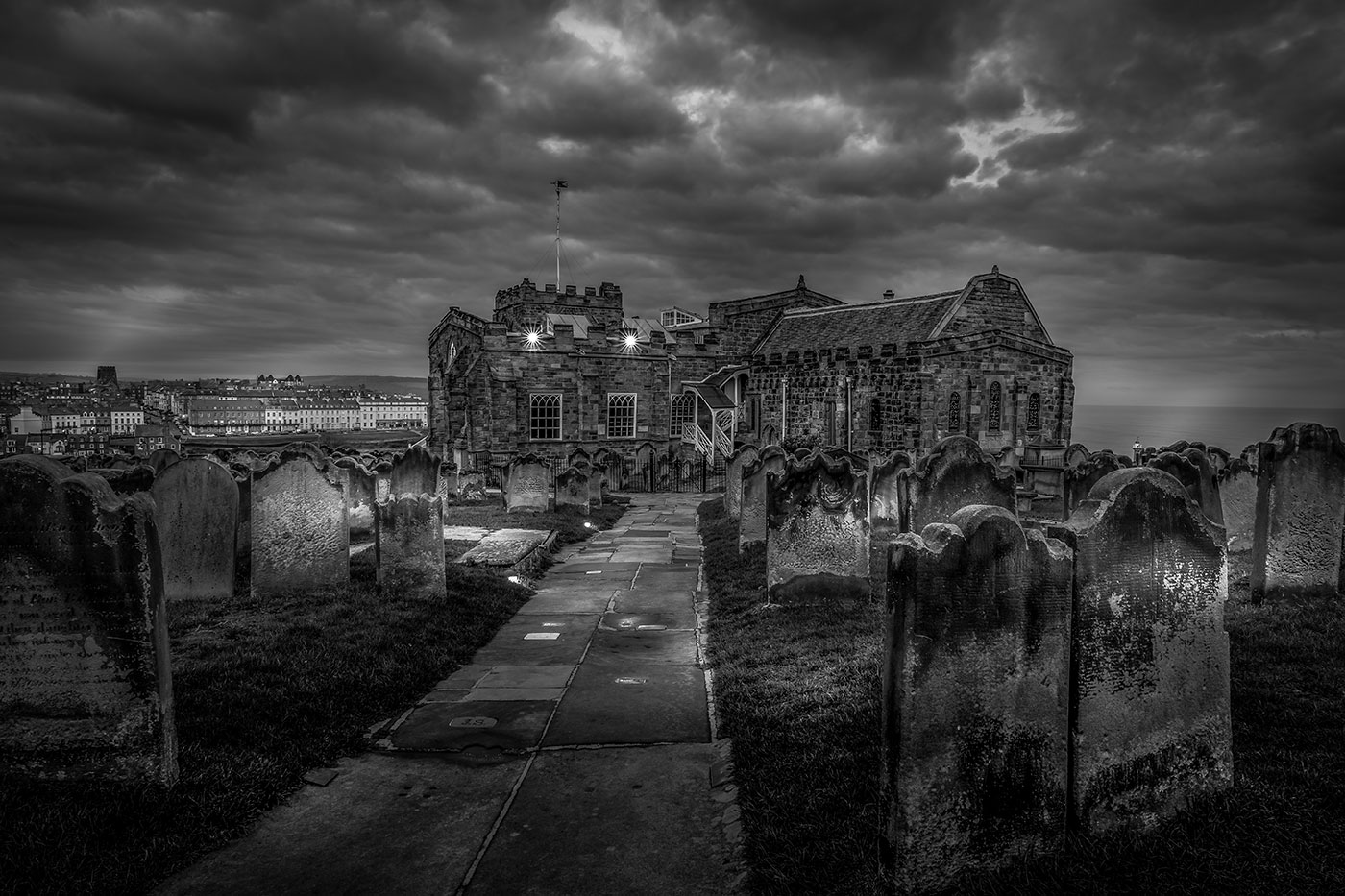 St Mary's Church Whitby Yorkshire