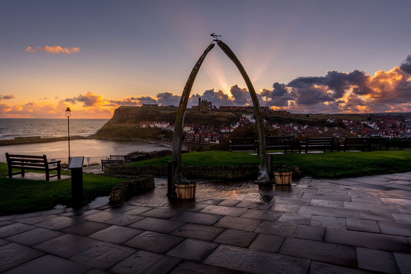 Whitby Whale Bones and Abbey