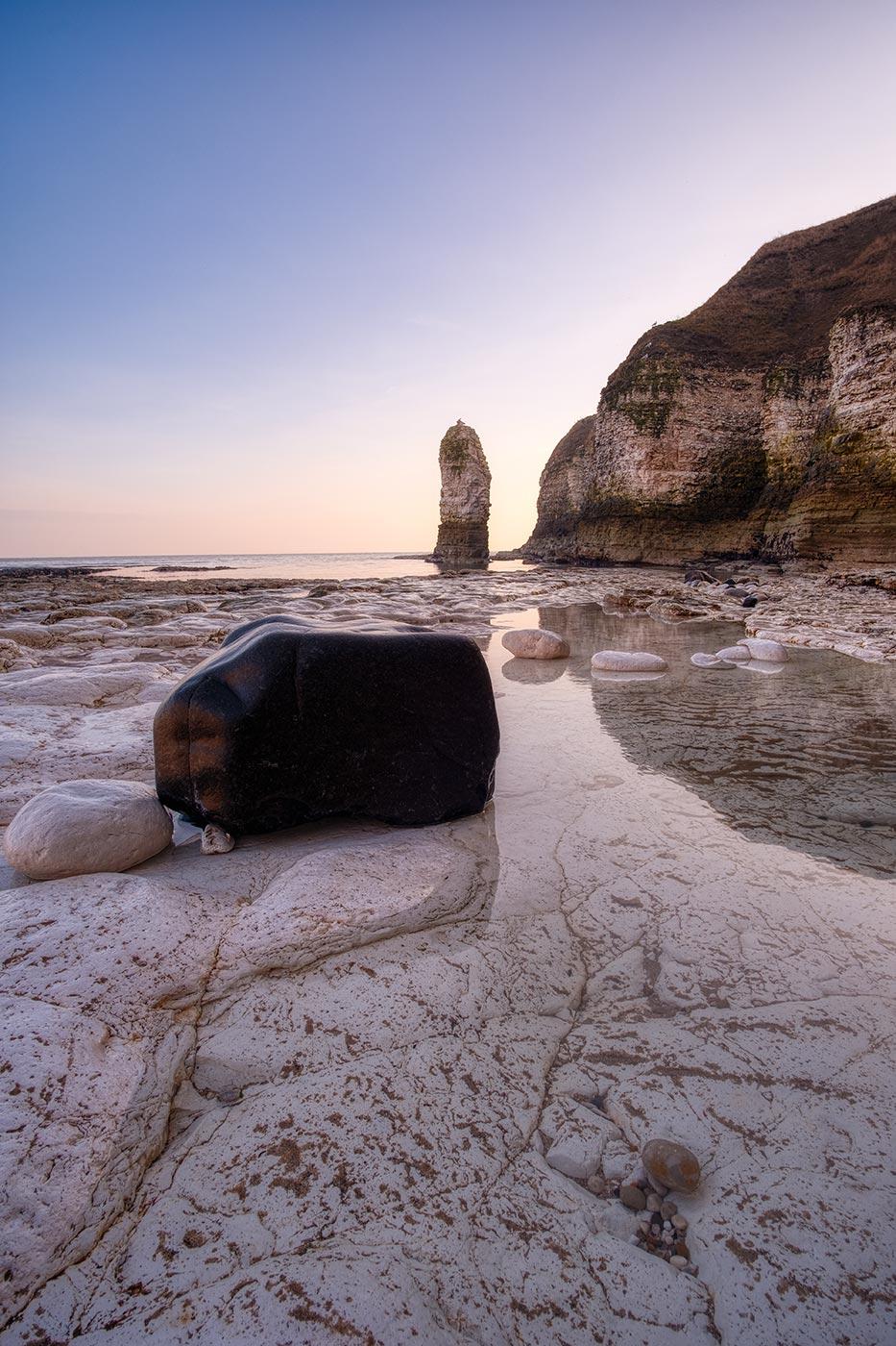 Flamborough Head Seascape Tim Hill