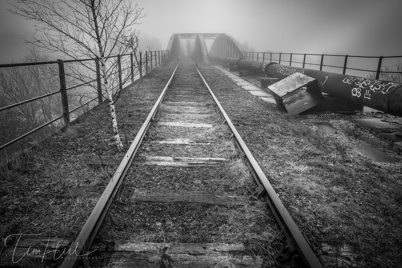 Castleford Yorkshire Abandoned Bridge