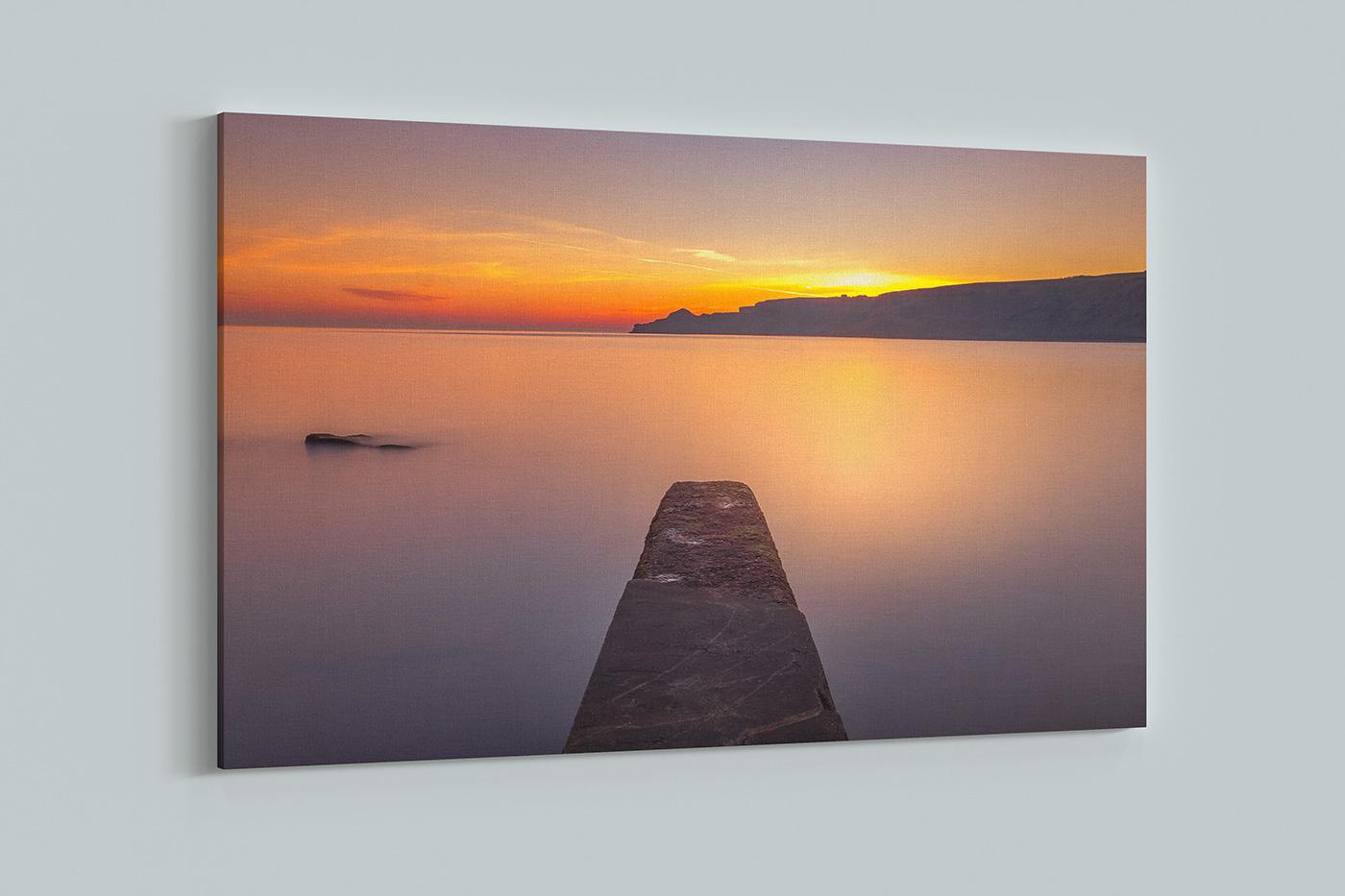 Runsick Bay Sunrise Print