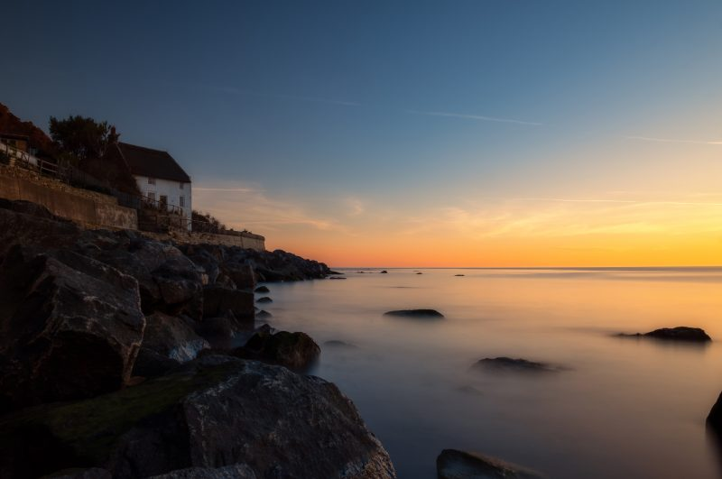 Runswick Bay at First Light