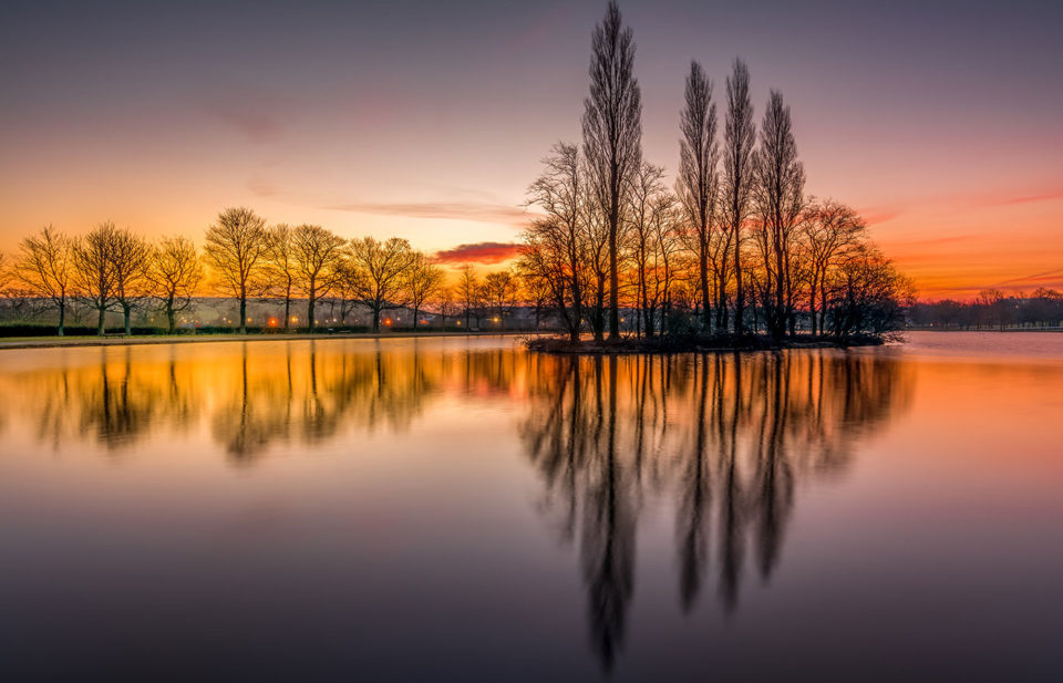 Pontefract Park Lake