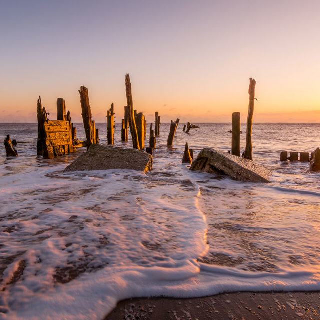 Spurn Point Sunrise
