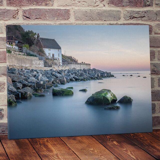 Runswick Bay Canvas Print