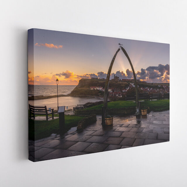 Whitby Whale Bones Canvas