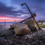 Filey Seafront Print