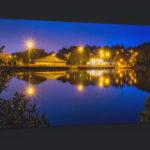 Newmillerdam Wakefield Blue Hour