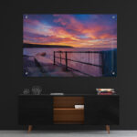 Filey Sunrise Acrylic Wall Art