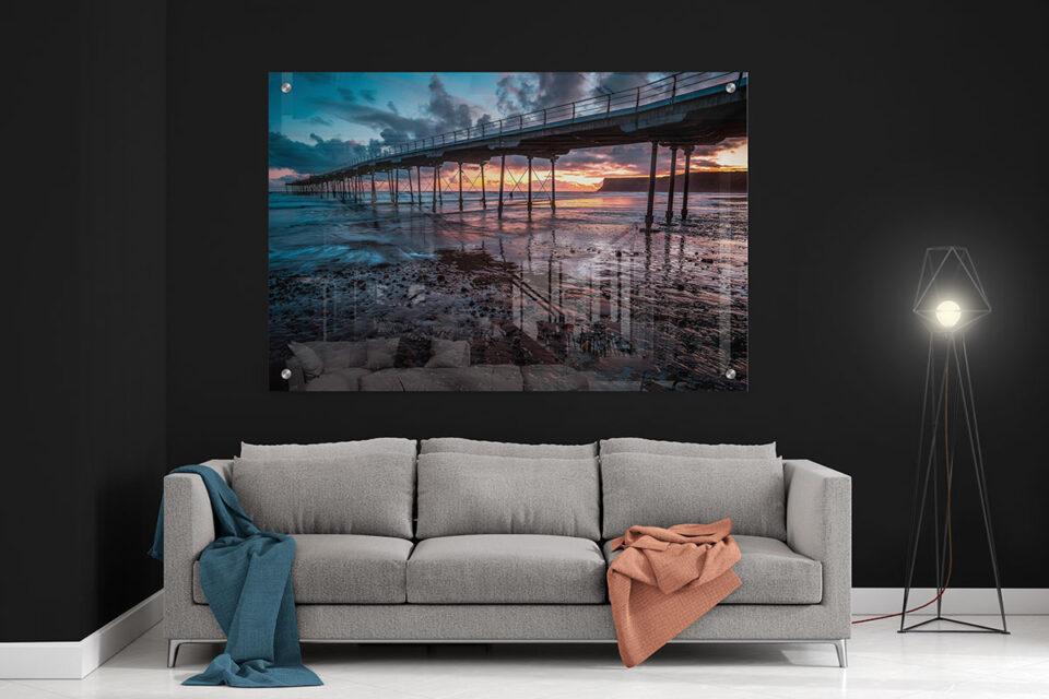 Saltburn Sunrise Acrylic