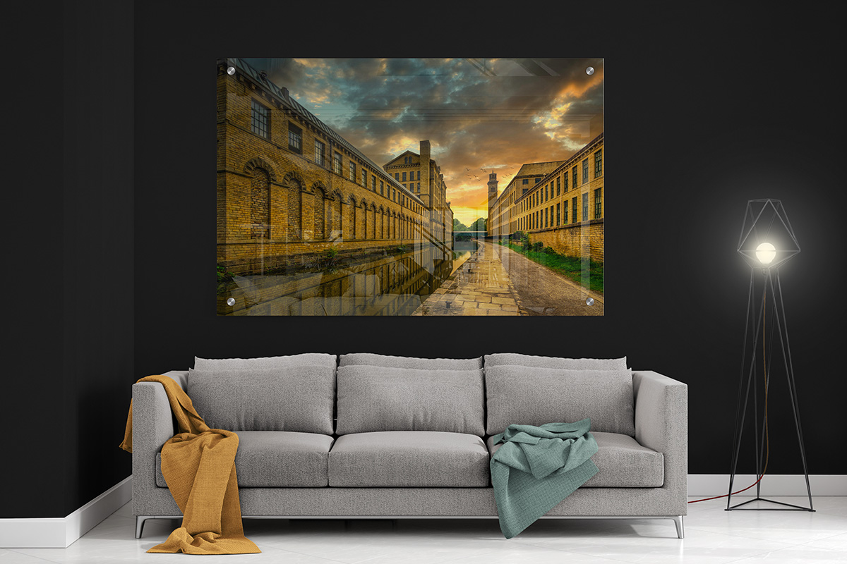 Salts Mill Saltaire Acrylic