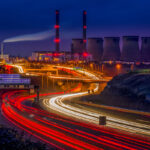 Ferrybridge Light Trails