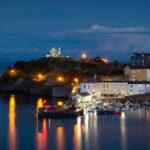 Tenby Wales Nighttime