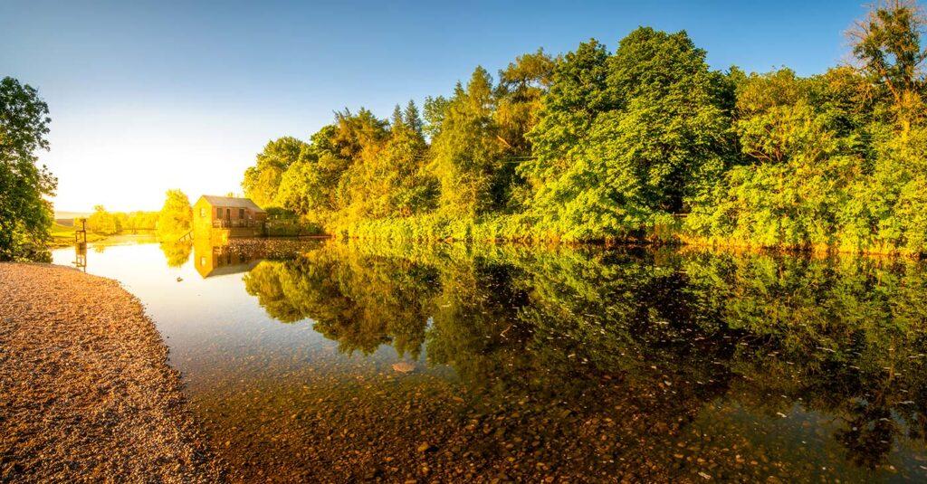 River Wharfe Panoramic Yorkshire Dales