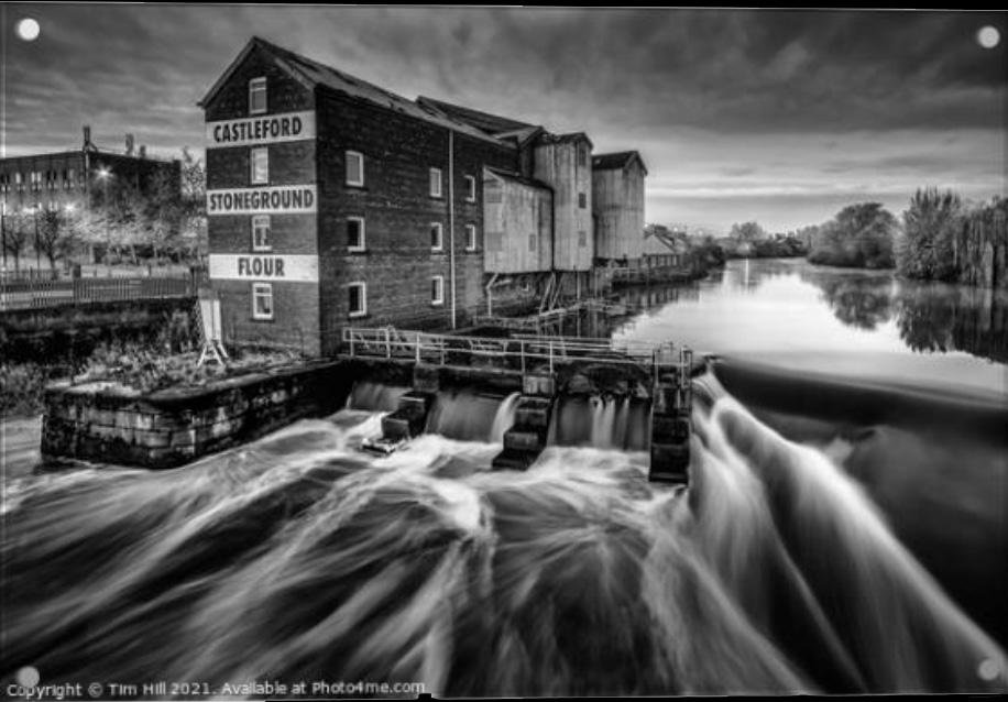 Castleford Flour Mill Acrylic