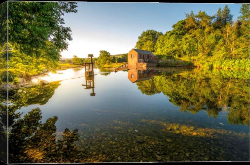 Grassington Weir Canvas