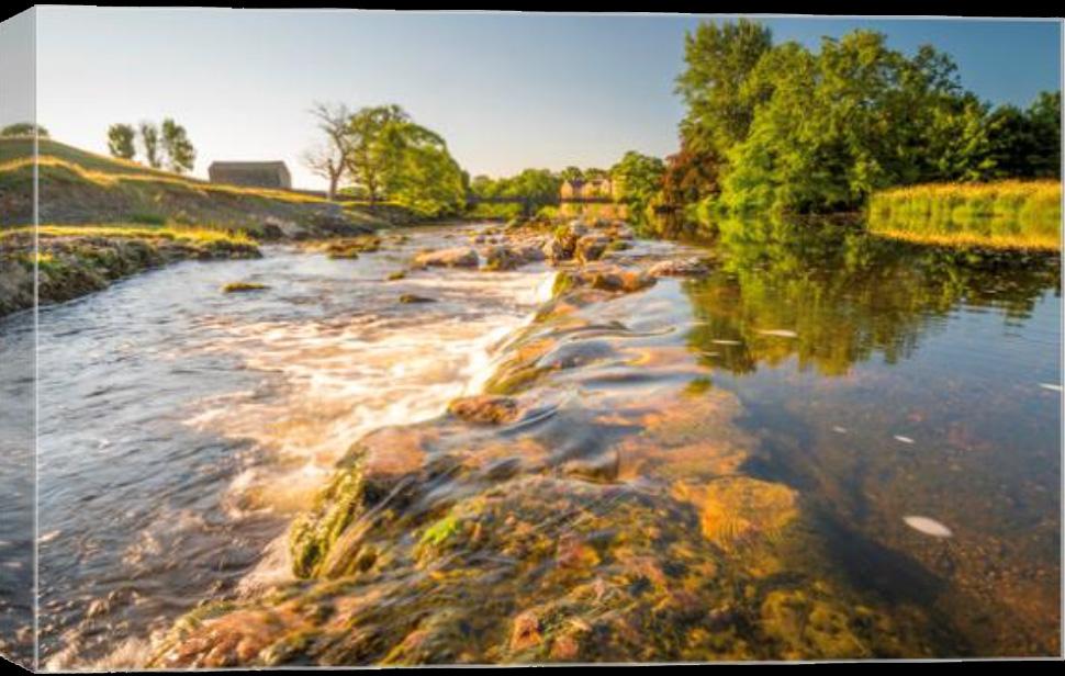 River Wharfe Grassington Canvas